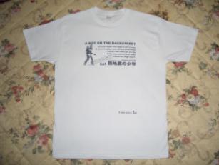 路地裏Tシャツ No.1