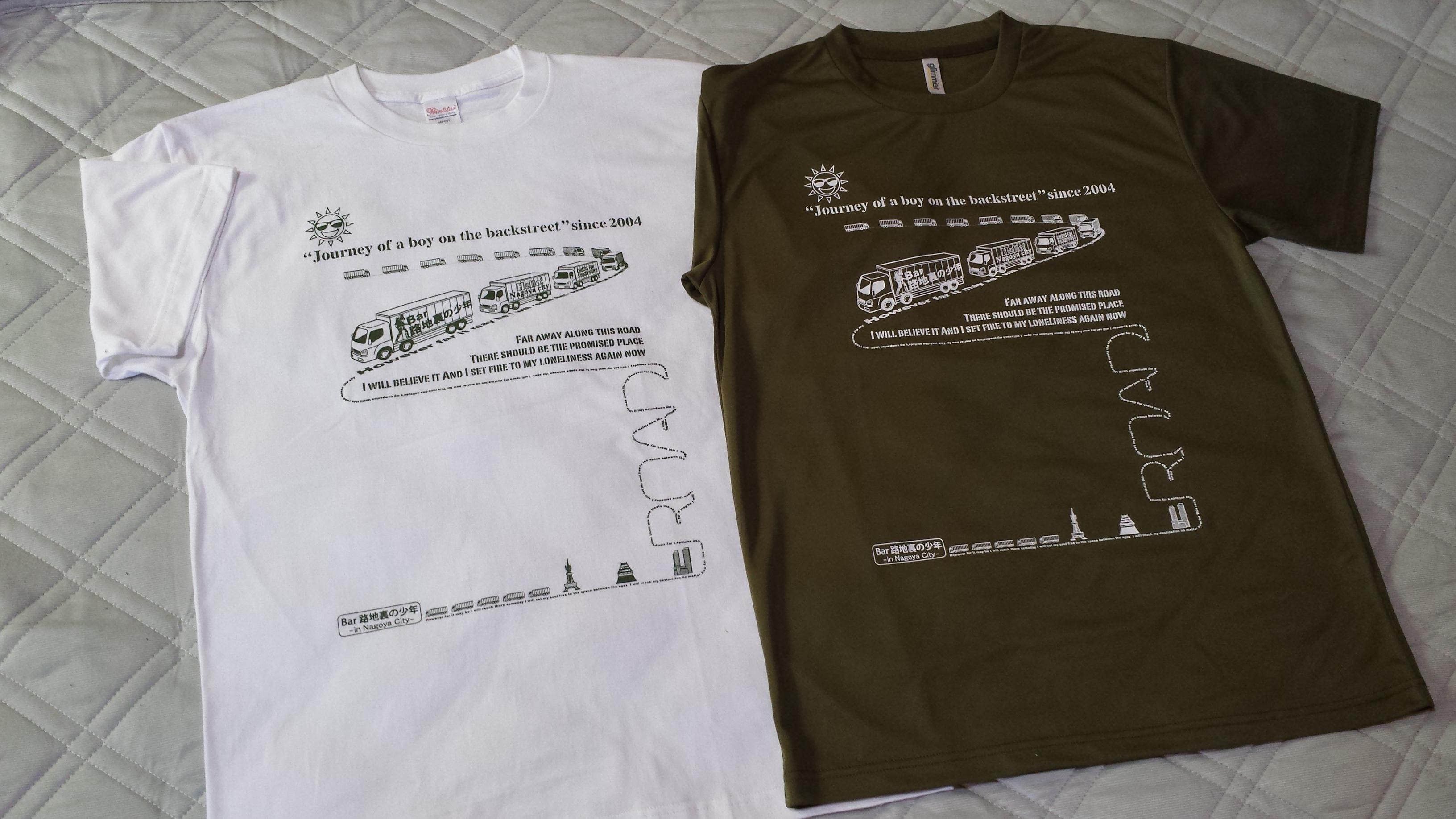 路地裏Tシャツ No.12