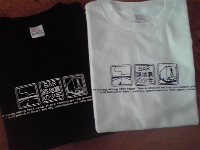 路地裏Tシャツ No.7