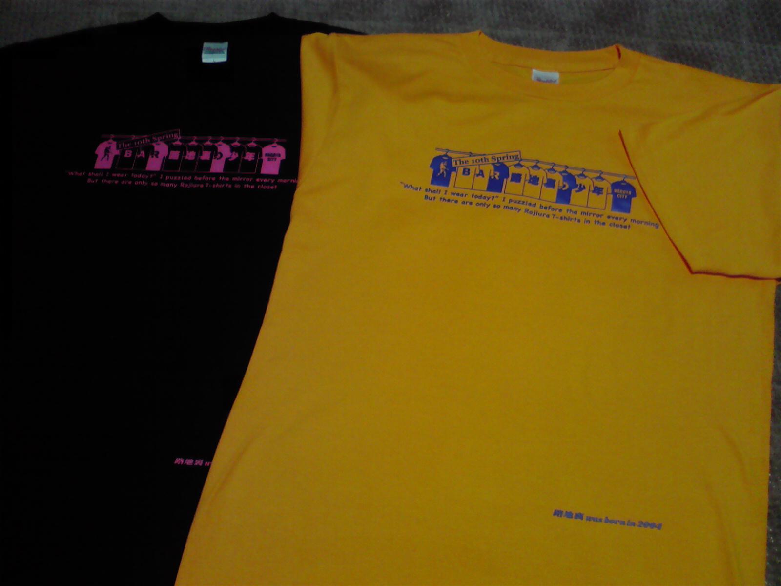 路地裏Tシャツ No.8